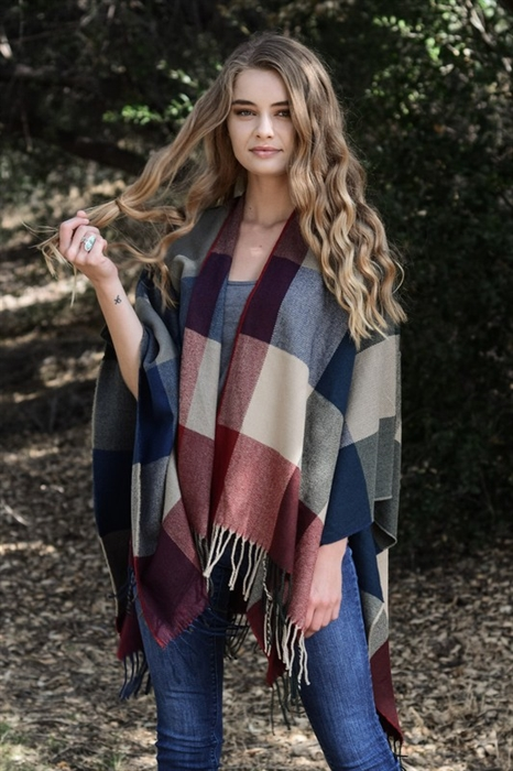 Picture of Tassel Poncho