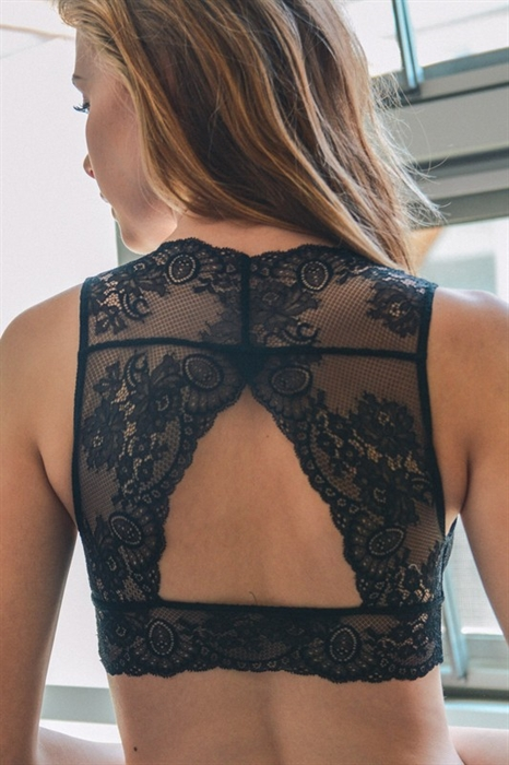 Picture of Kylie Keyhole Lace Back Bralette