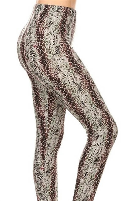 Picture of Mad As A Snake High Waist Leggings