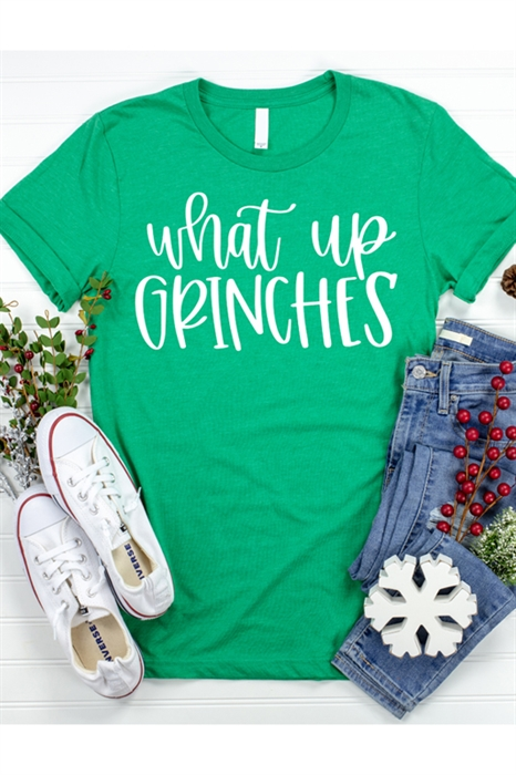Picture of What Up Grinches Graphic Tee