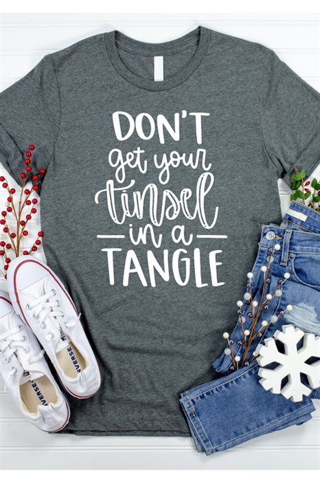 Picture of Tinsel in a Tangle Graphic Tee