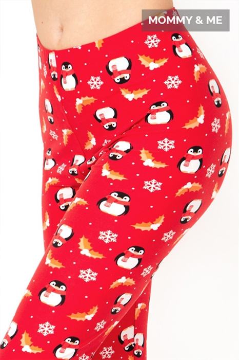 Picture of Penguin Party High Waist Leggings