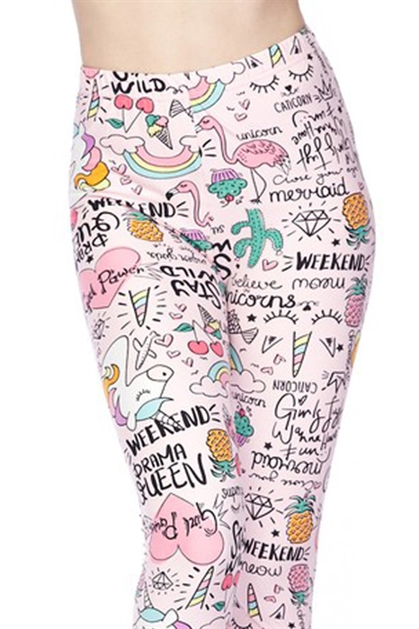 Picture of Women's Caticorn Unicorn Leggings