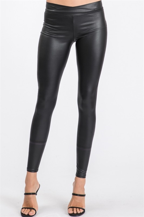 Picture of Faux Leather Slim Leggings 🇺🇸