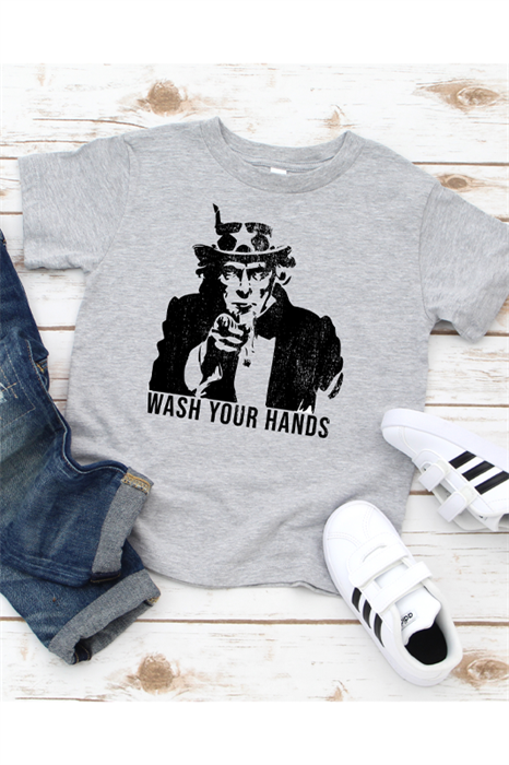 Picture of Wash Your Hands Graphic Tee (Youth)