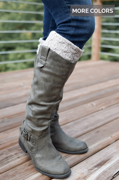 Picture of Knitted Boot Cuffs