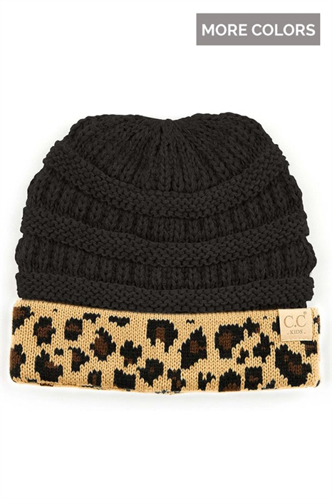 Picture of Youth Leopard CC Beanie