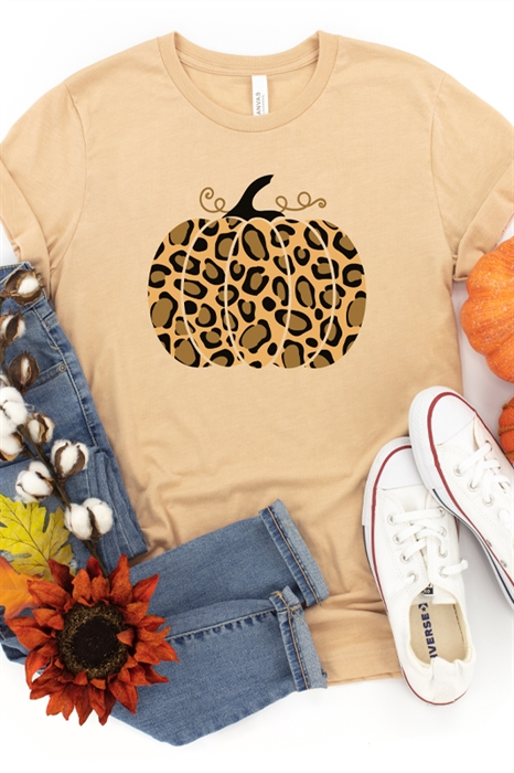 Picture of Leopard Pumpkin Graphic Tee