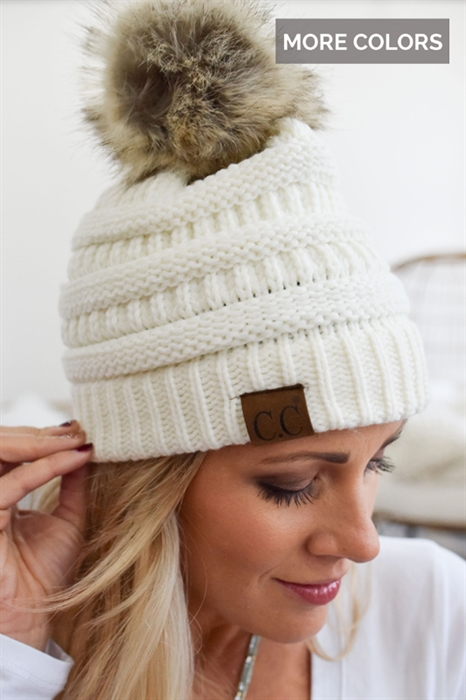 Picture of CC Pom Beanie