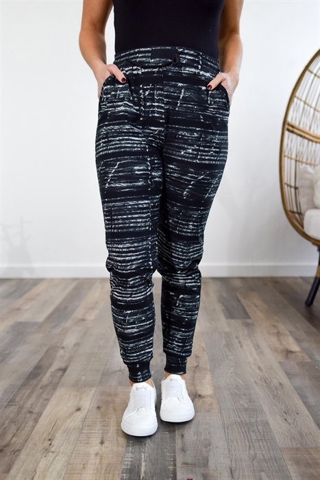 Picture of Black Static Softest Joggers