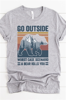 Picture of Go Outside Graphic Tee