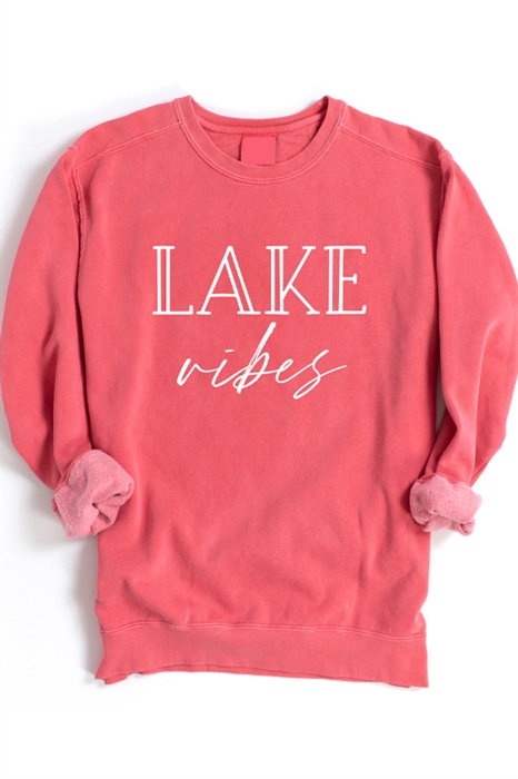 Picture of Lake Vibes Graphic Sweatshirt