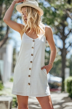 Picture of Button Up Linen Dress