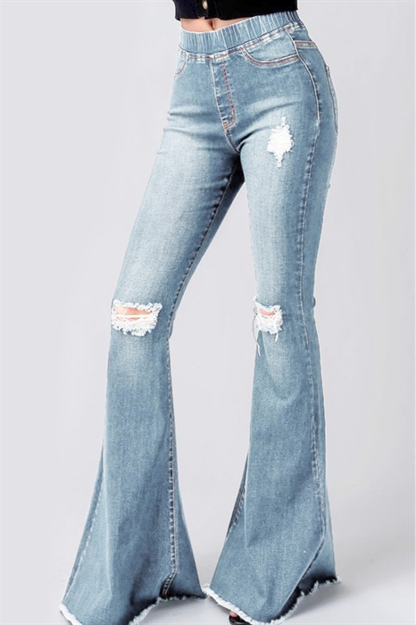 Picture of Flared Jeggings