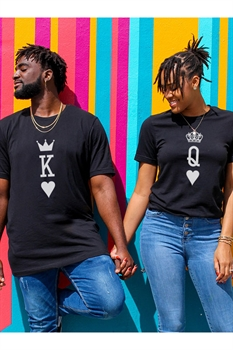 Picture of King & Queen Graphic Tees