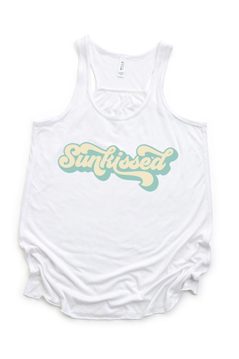 Picture of Sunkissed Flowy Tank Graphic Tee