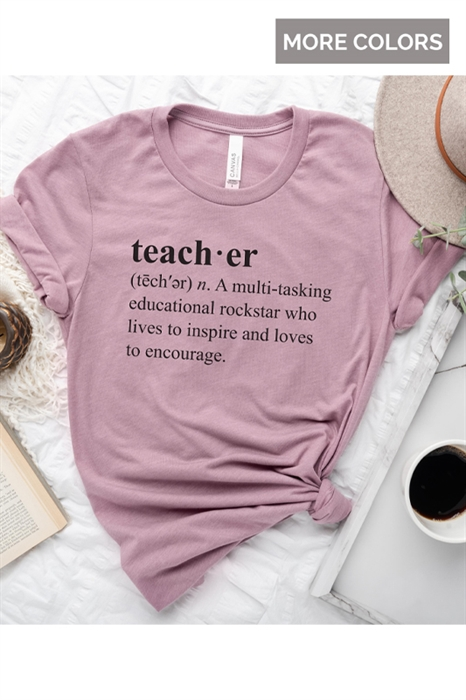 Picture of Teacher Definition Graphic Tee