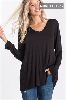 Picture of Brielle Lux V Neck Top