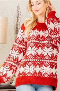 Picture of Snowflake Sweater